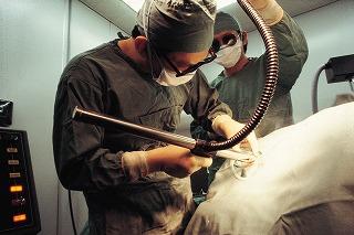 すそわきがの治療法-切る手術イメージ-